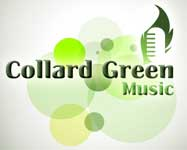 Collard Green Music Logo_ Neo Design Concepts Print Marketing Graphic Design