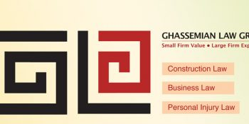 Ghassemian Law Group Banner_ Neo Design Concepts Print Marketing Graphic Design