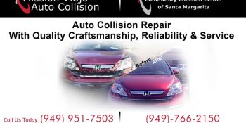 Mission Viejo Auto Collision Print Marketing Banner - Neo Design Concepts Graphic Design