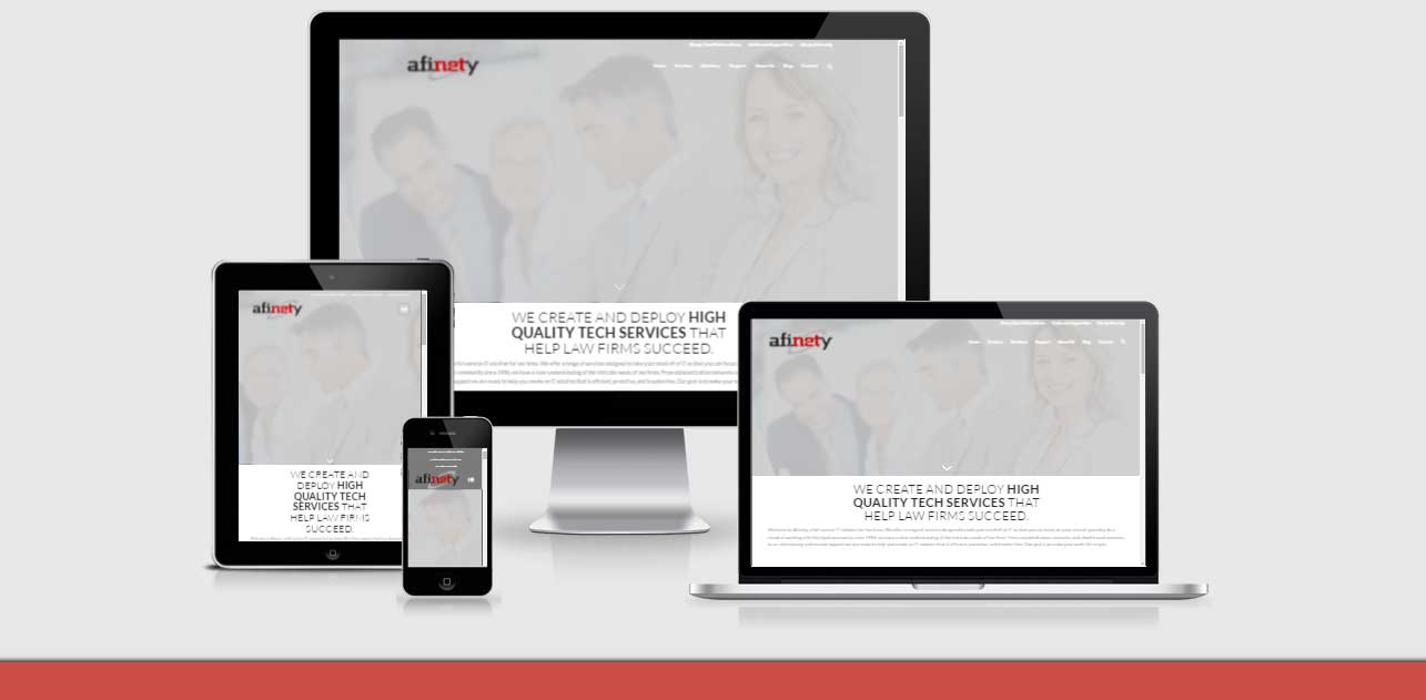neo-design-concepts-responsive-website development for afinety