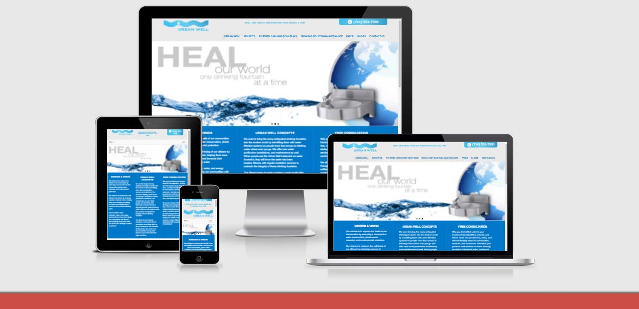 neo-design-concepts-responsive-website design development for urban-well