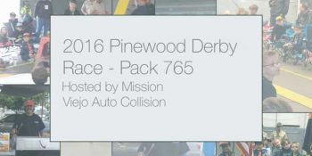 Mission Viejo Auto Collision 2016 Pinewood Derby Race _ Neo Design Concepts Videography