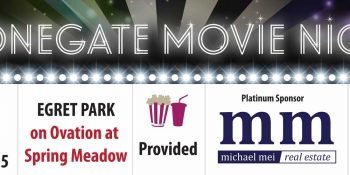 Michael Mei Movie Night Banner - Neo Design Concepts Print Marketing Graphic Design