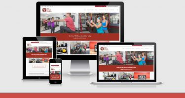 Neo Deisgn Concepts website development of full-circle-fitness