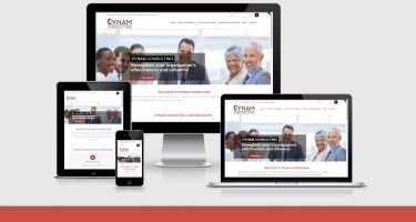 Neo Design Concepts responsive website design development of dynam-consulting
