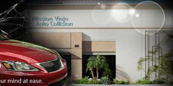Mision Viejo Auto Collision Banner _ Neo Design Concepts Print Marketing Graphic Design
