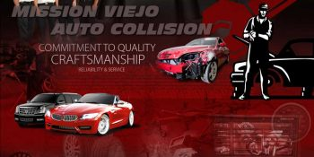 Mission Viejo Auto Collision Banner - Neo Design Concepts Web Marketing - Social Media Banner Design