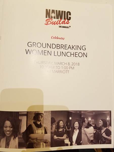 NAWIC Groundbreaking Women Luncheon 2018_Neo Design Concepts