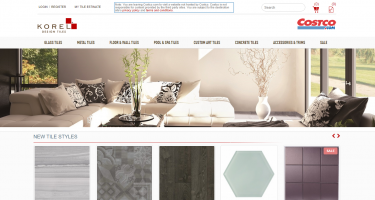 Neo Deisgn Concepts - Korel Design Tiles Ecommerce Responsive Site Design Development