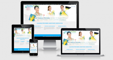 Neo Design Concepts Responsive Website Design_Cleaning Providers Assistance Association