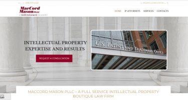 MacCord Mason PLLC website design development_Neo Design Concepts LLC