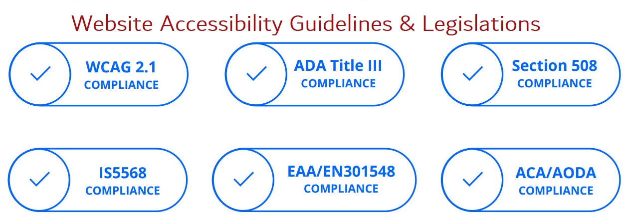 Website accessibility guidelines and legislations_Neo Design Concepts